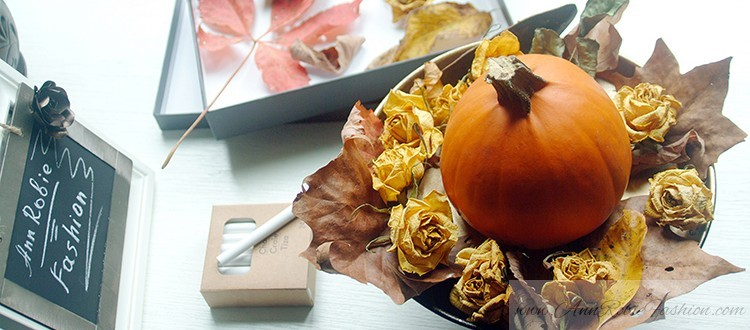 Home-decor-with-pumpkin